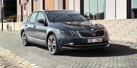 2017 Skoda Octavia facelift revealed further, RS performer rendered