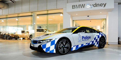 Audi S7 Sportback, BMW i8 to boost police profile