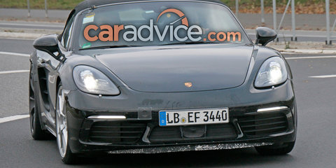 Porsche 718 Boxster GTS spied testing