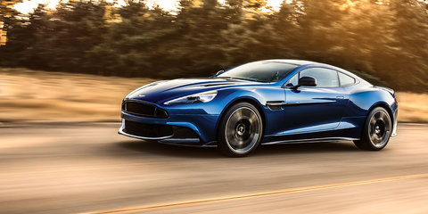 2017 Aston Martin Vanquish S revealed in LA: More power, more carbon, here in April