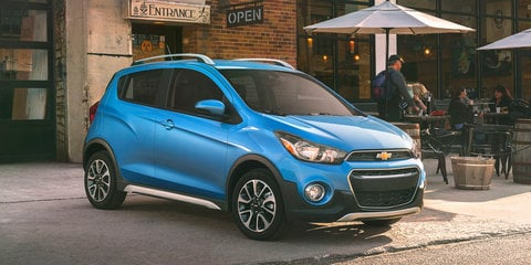 Chevrolet Spark Activ: Soft-roader version of Holden Spark revealed in LA - UPDATE