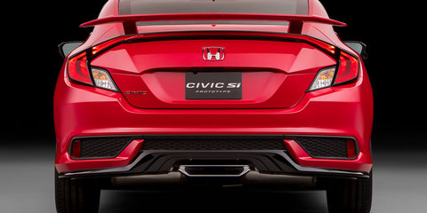 Honda Civic Si Prototype previews sub-Type R coupe and sedan
