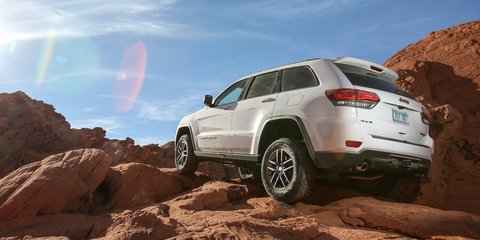 Jeep Grand Cherokee a 'natural fit' for Trailhawk off-road capability