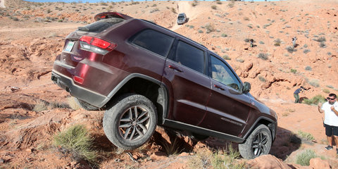 2017 jeep grand cherokee trailhawk review caradvice. Cars Review. Best American Auto & Cars Review