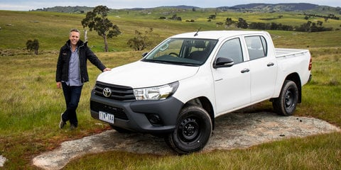 2016 Toyota Hilux WorkMate 4x4 review