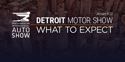 2017 Detroit motor show:: What to expect – UPDATE