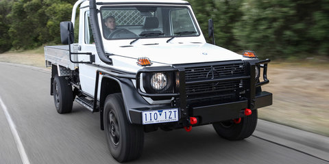 2017 Mercedes-Benz G-Professional Cab-Chassis pricing and specs