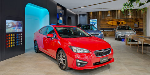 Subaru will let you buy the new Impreza online, or at a shopping centre