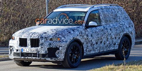 2018 BMW X7 spied