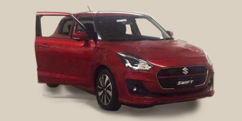 2017 Suzuki Swift front end caught undisguised