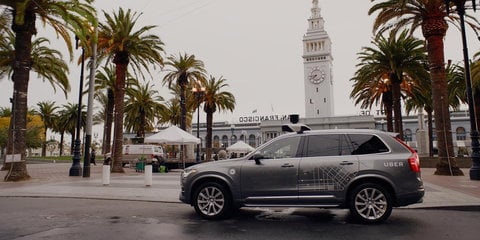Uber admits that its self-driving cars illegally cut across bike lanes