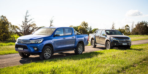 January Sales: Toyota HiLux edges Ranger and Colorado