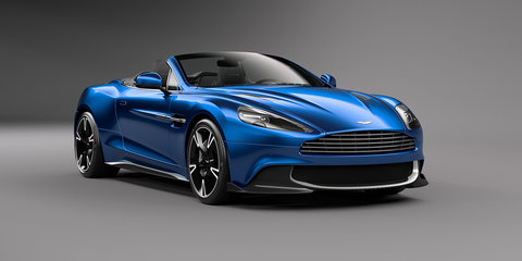 2017 Aston Martin Vanquish S Volante revealed:: More power, more carbon, less roof - UPDATE