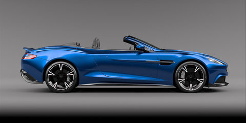 2017 Aston Martin Vanquish S Volante revealed: More power, more carbon, less roof - UPDATE