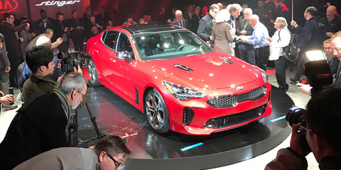 2018 Kia Stinger revealed: Detroit debut for 272kW rear-drive Korean liftback