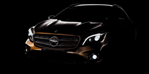 2017 Mercedes-Benz GLA facelift teased for Detroit: Mid-year launch confirmed for Australia