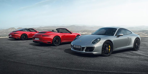 2017 Porsche 911 GTS range revealed: on sale in Australia now - UPDATE