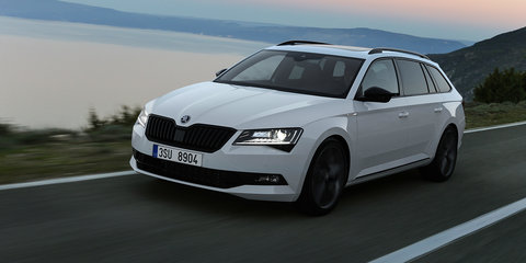2017 Skoda Superb Sportline:: New flagship here in February