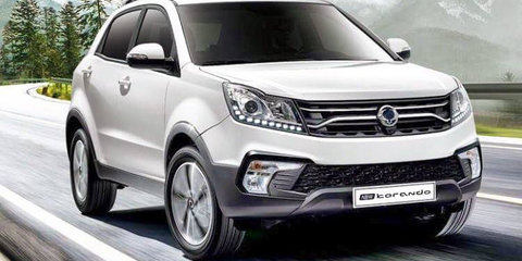 Ssangyong reveals second Korando facelift