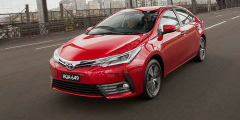 2017 Toyota Corolla sedan pricing and specs: New looks, more kit and upgraded safety