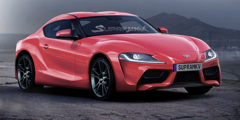 New Toyota Supra rendered