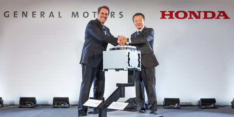 GM and Honda announce joint Fuel-Cell production facility