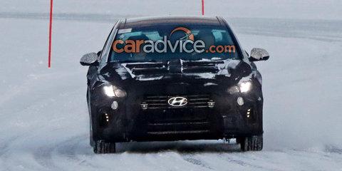 2018 Hyundai Sonata facelift spied
