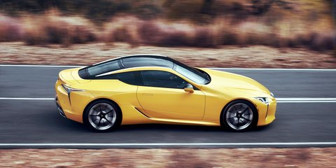 Lexus LC500 – same V8 engine, more torque, better sound