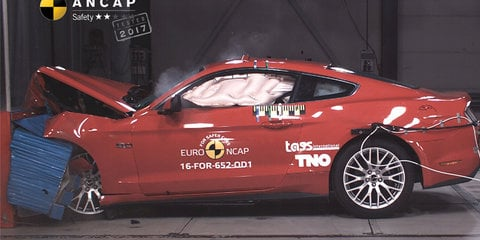 Ford Mustang gets two-star ANCAP crash rating