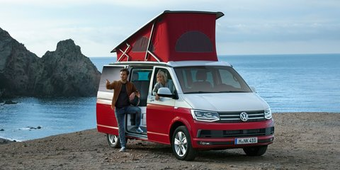 Volkswagen California campervan under consideration for Australia