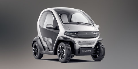 Eli Zero:: Renault Twizy-style EV revealed before CES 2017