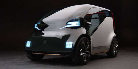 Honda NeuV concept works hard to make a living when the owner's away