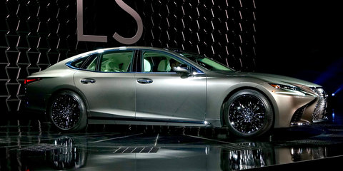 2018 Lexus LS500 revealed in Detroit with powerful new twin-turbo V6