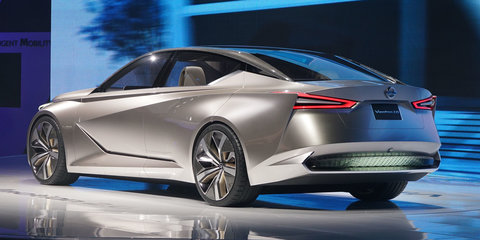Nissan Vmotion 2.0 concept points to an edgier sedan styling philosophy