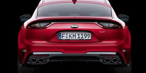 Kia Stinger leaked:: Sexy RWD sedan emerges