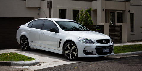 2016 Holden Commodore S Black Edition Review Review