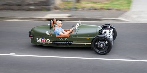 2017 Morgan 3 Wheeler review