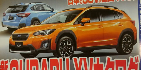 2017 Subaru XV leaked in Japanese media
