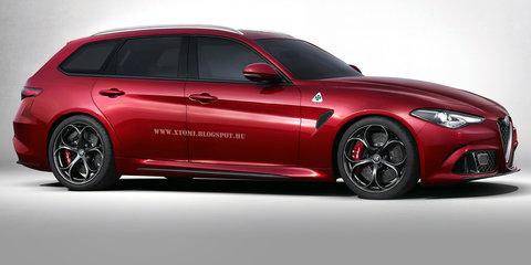 Alfa Romeo Giulia Sportwagon scrapped