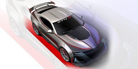 2017 Chevrolet Camaro GT4.R: track-ready terror teased in tasty-looking sketch