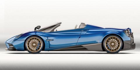 2017 Pagani Huayra Roadster unveiled