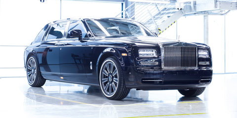 Last Rolls-Royce Phantom VII rolls off the line, replacement not due until 2018