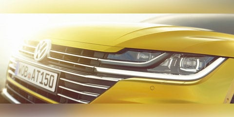 2018 Volkswagen Arteon teased ahead of Geneva debut
