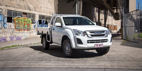 2017 Isuzu D-Max SX 4x2 Single-Cab Chassis review