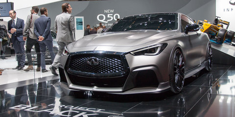 Infiniti Q60 Project Black S concept revealed