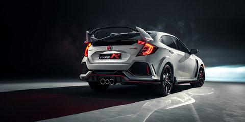 2017 Honda Civic Type R revealed in Geneva, here later this year