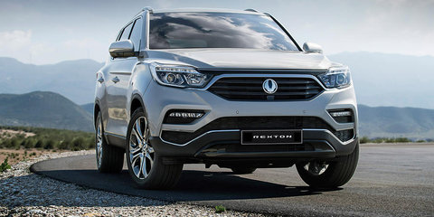 2018 Ssangyong Rexton revealed