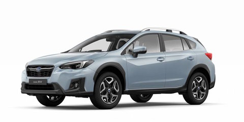 2017 Subaru XV crossover revealed