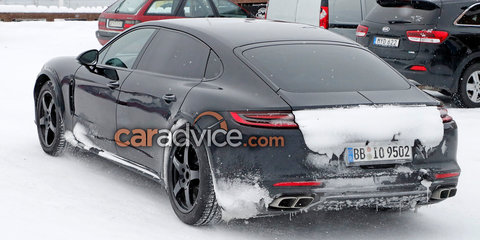 2019 Bentley Flying Spur mule spied