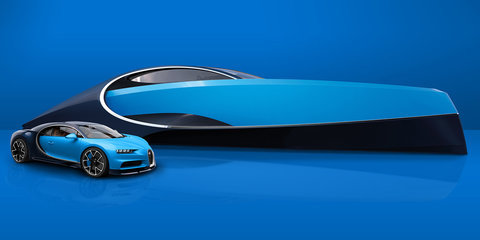 Bugatti's Niniette 66 is for when your Chiron runs out of road